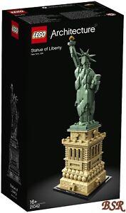 Lego-Architecture-21042-estatua-de-la-libertad-amp-0-de-envio-amp-nuevo-con-embalaje-original
