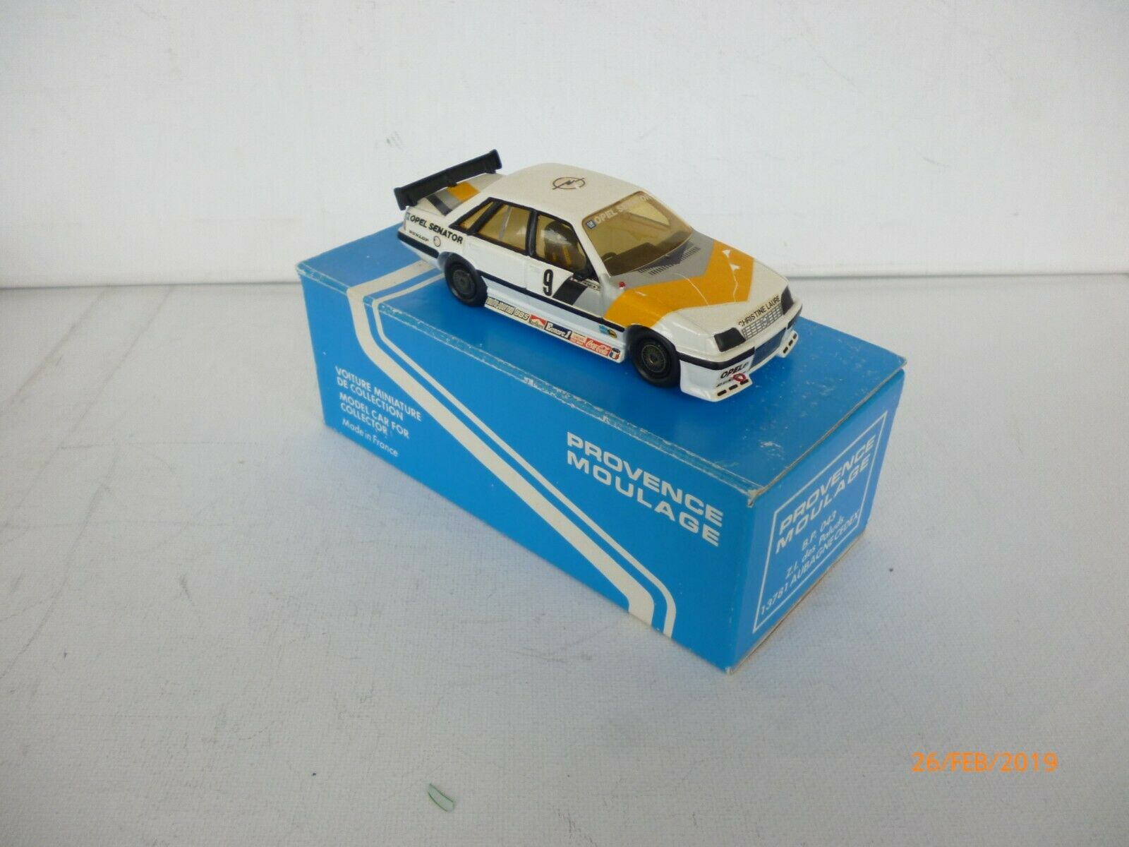 PROVENCE MOULAGE  KIT OPEL SENATOR PRODUCTION K-188 - 1 43 - IN BOX