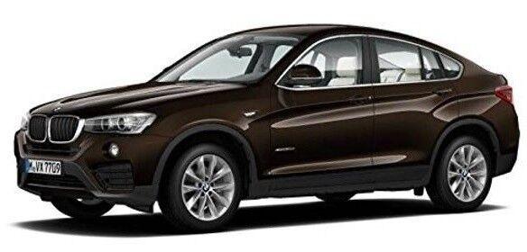 PAR97091 - Voiture 4x4 - BMW X4 de couleur Marron - 1 18