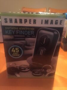 Sharper Image Portable Electronic Key Finder Brand New Open Box