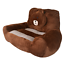 kids new stuffed brown bear armchair sofa soft character plush chair and lounger