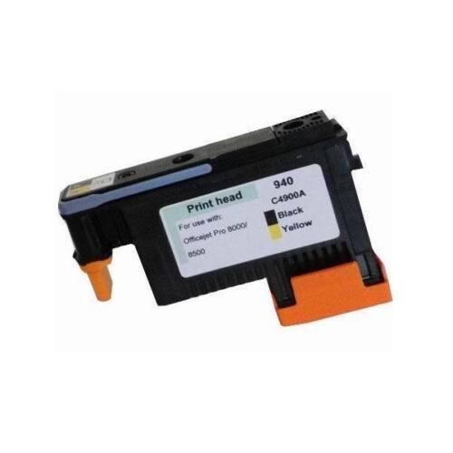 Reman HP 940 Printhead Print head Black//Yellow C4900A for 8500 8000