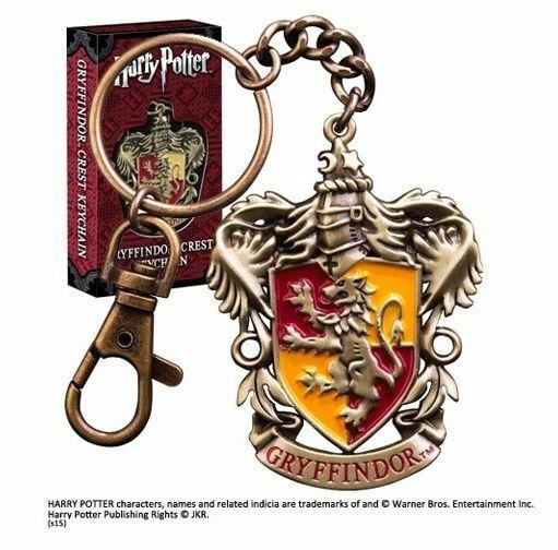 Harry Potter Porte-clé métal Gryffindor Crest Noble Collection