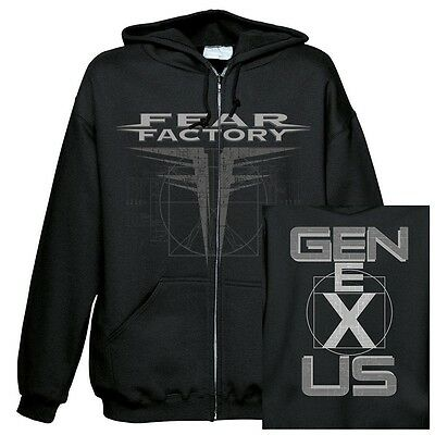 FEAR FACTORY - GNXS Kapuzenjacke Zipped hoodie Größe / size S M L XL XXL