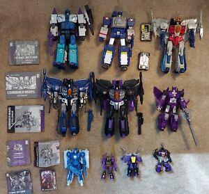 Transformers Decepticons Lot of 11. Combiner Wars, Titans Return.