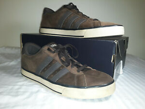 Details about ADIDAS Neo Label Brown/Brown Men's Sneakers SZ 8.5 EUC W/ FREE SHIPPING!