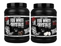 Rich Piana 5% Nutrition Real Food Egg White Crystals High Protein Powder + Gift