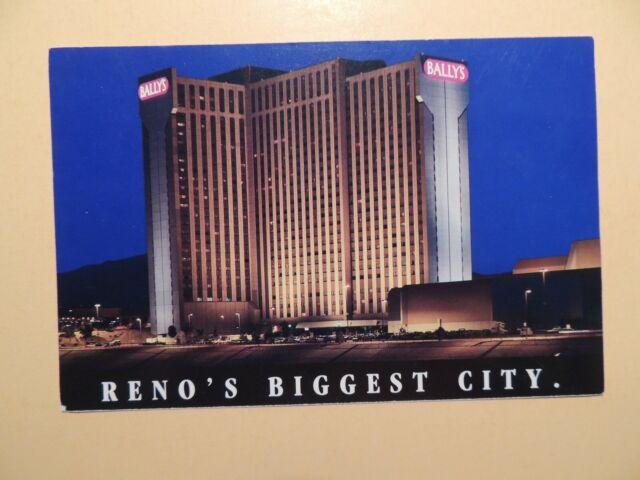 Ballys Reno Nevada Postcard cs4987 (Paper and Ephemera