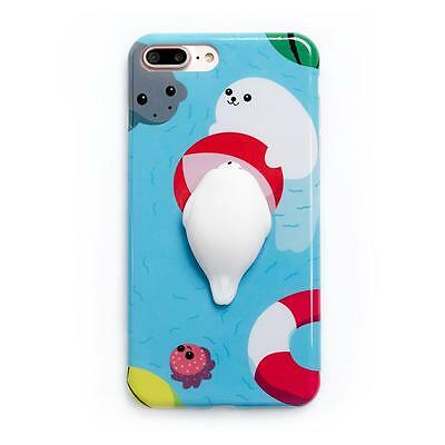 Squishy 3D Soft Stress Ball Silicone TPU Case iPhone 5/6/6 Plus/7/7 Plus
