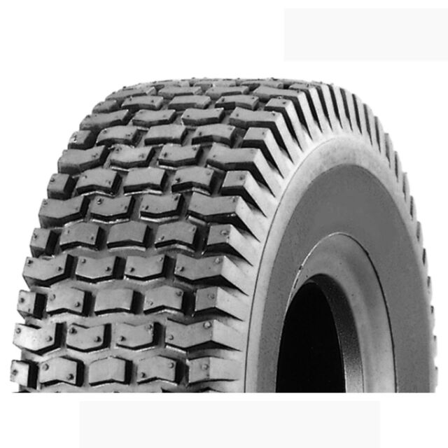 Ride On Mower Tyre 15x6.00-6 K358 Turf Rider 4 Ply Block Tread 15 X 600 X 6  ...