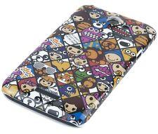 Hülle f HTC One X/X+ Plus/XL Schutzhülle Tasche Cover Hard Case Comic Emoticons
