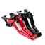 Motorcycle Adjustable CNC Clutch Brake Lever For kawasaki  Z750R  2011-2012