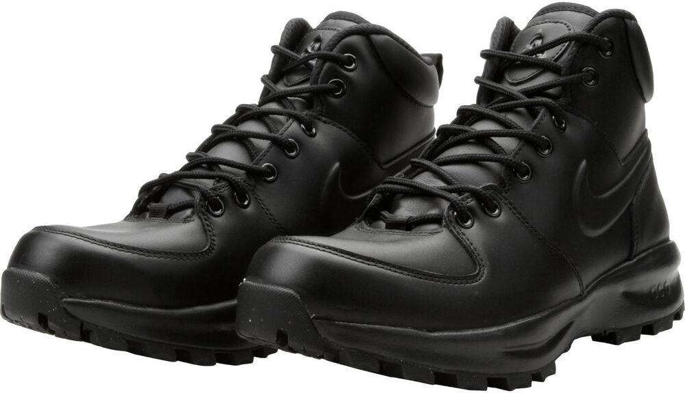 Nike Manoa Leather Baskets Bottes Homme Noir Chaussures 454350-003 Snow Winter Noir Homme Chaussures de sport pour hommes et femmes e3e08b