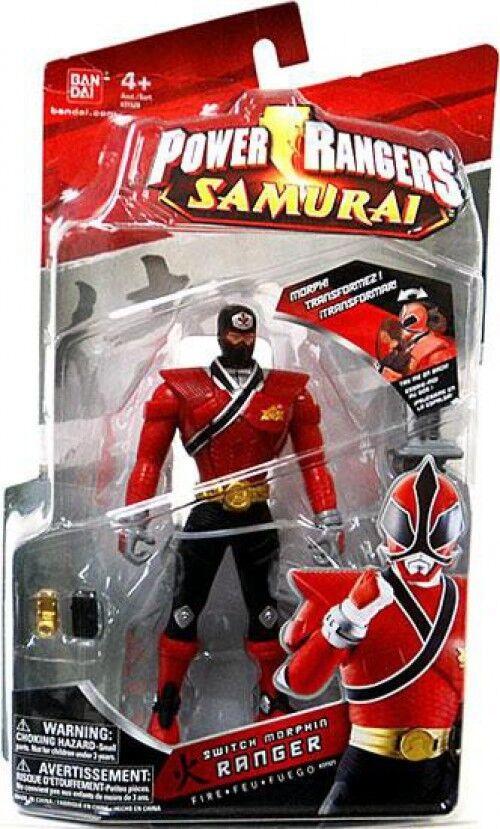 Power rangers samurai - morphin ranger feuer action - figur