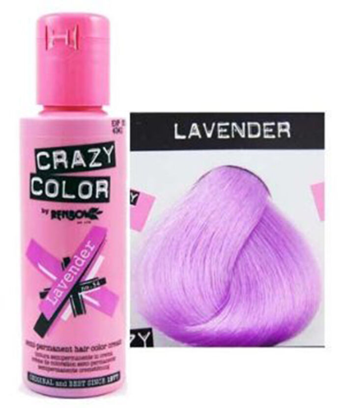 Crazy Color Semi Permanent Hair Dye 100 Ml All Colours Available