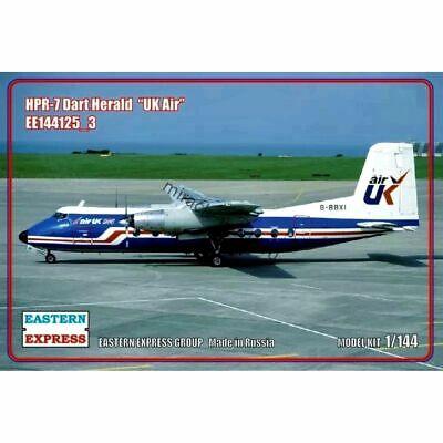 "airliner Eastern Express 144125-1 Dart Herald HPR-7 1//144 HPR.7 /""Globe Air/"""