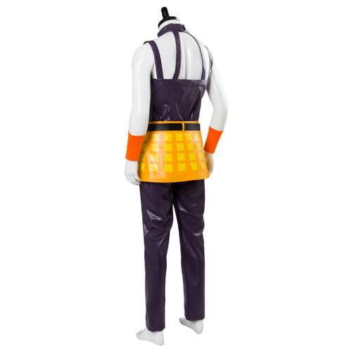 JoJo/'s Bizarre Adventure Golden Wind Narancia Ghirga Cosplay Halloween Costume