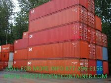 40' High Cube Cargo Container / Shipping Container / Storage Unit in Miami FL