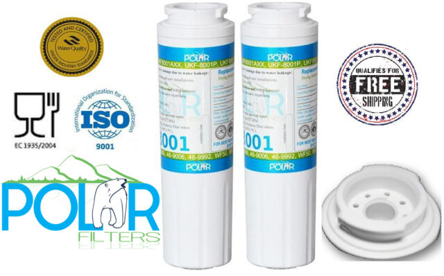 2X Sub Maytag Kenmore Sears 469006, 9006, 469992 Water Filter by Polar