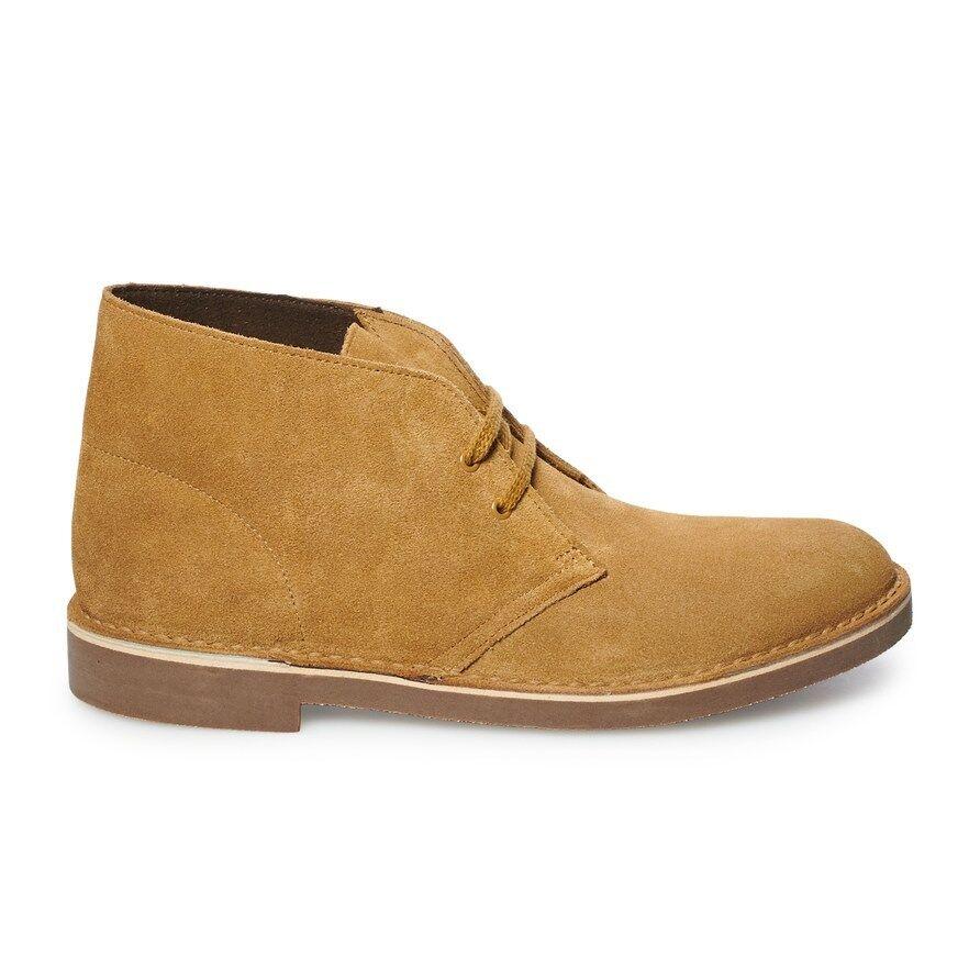 Clarks Men's BUSHACRE 2 shoes Wheat Suede 26117749 c