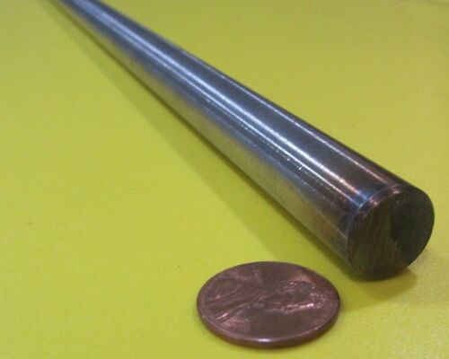 """x 24/"""" Length 9//16/"""" Dia 304//304L Stainless Steel Rod +//-.002/"""""""