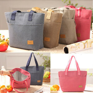 Waterproof Insulated Thermal Cooler Lunch Boxs Picnic Carry Tote Storage Bags