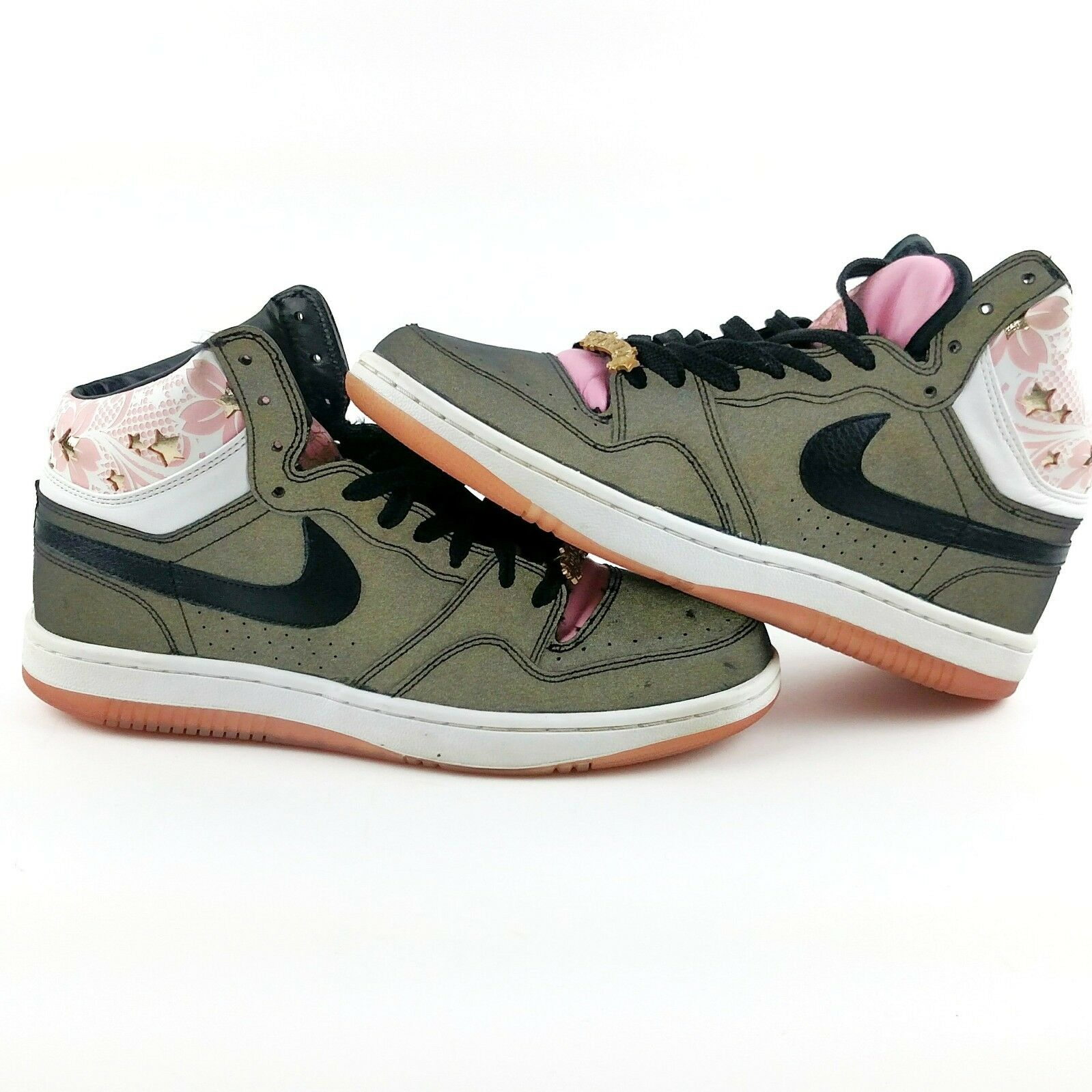 Nike Court Force Hi Premium 316384-002 Sakura Black Ueno 3M AF1 US Men's Size 11