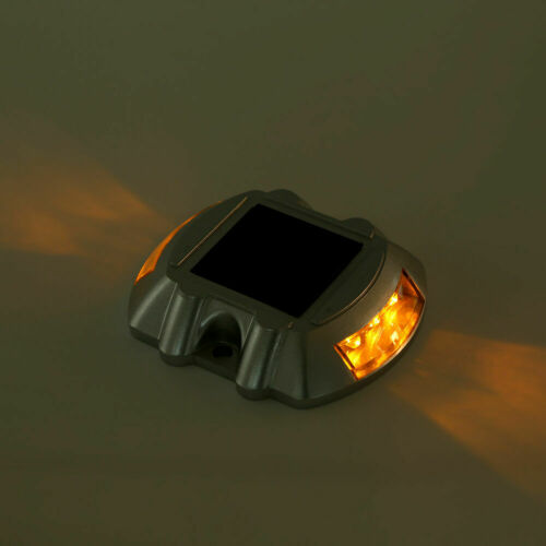 Solar Power LED Marker Lights Safety Light for Pathway Driveway Dock Path Deck