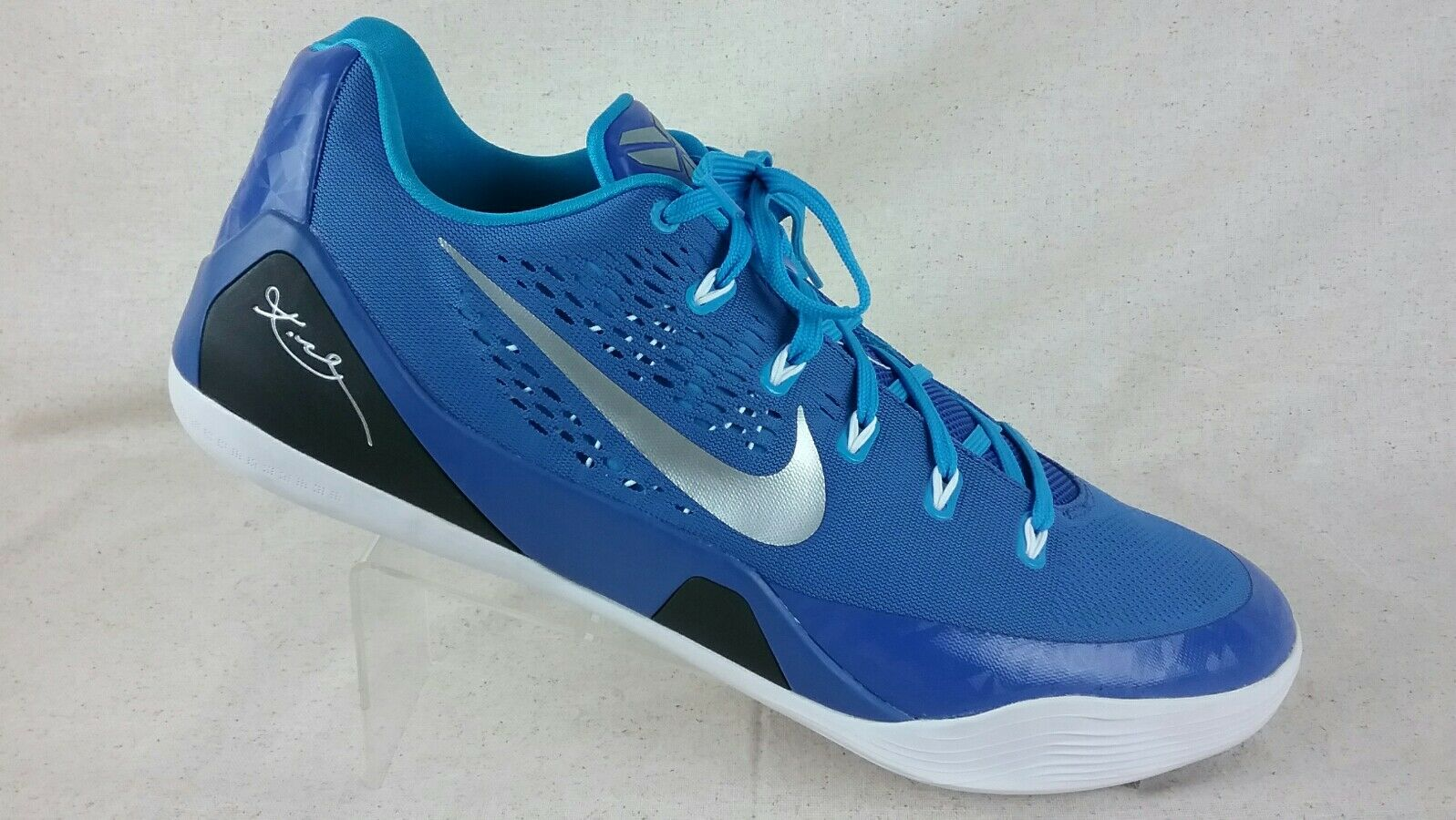 Nike kobe niedrigen em tb - spiel bei 16,5 16,5 16,5 royal bl / metallic - silber / Weiß 685776-405 893aac