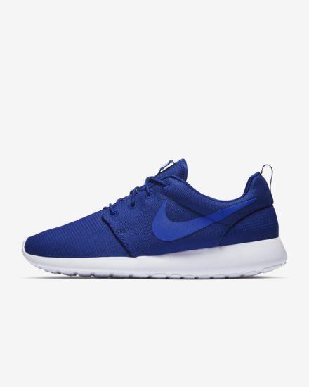 Nike Men's Roshe One Running shoes Deep Royal bluee Game Royal White 511881-425