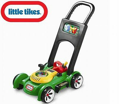 NEW Kids Fun Outdoor Pretend Play Little Tikes Gas n Go Toy Lawn Push Mower