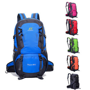 40L-Waterproof-Rucksack-Outdoor-Backpack-Hiking-Camping-Travel-Luggage-Bags-Pack