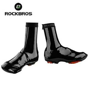 RockBros-Cycling-Shoes-Covers-Warm-Windproof-Waterproof-PU-Protector-Overshoes