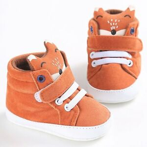 Chaussures de bébé garçon fille nouveau-né Cuir Crib semelle souple chaussures baskets chaussures de marche