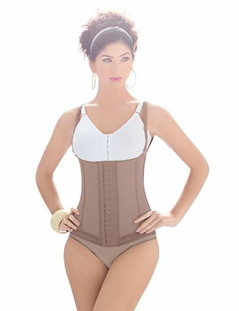 Latex Daily Free Compression Slimming Vest -Abdominal Girdle Daily Latex use Powernet Faja 9a82f3