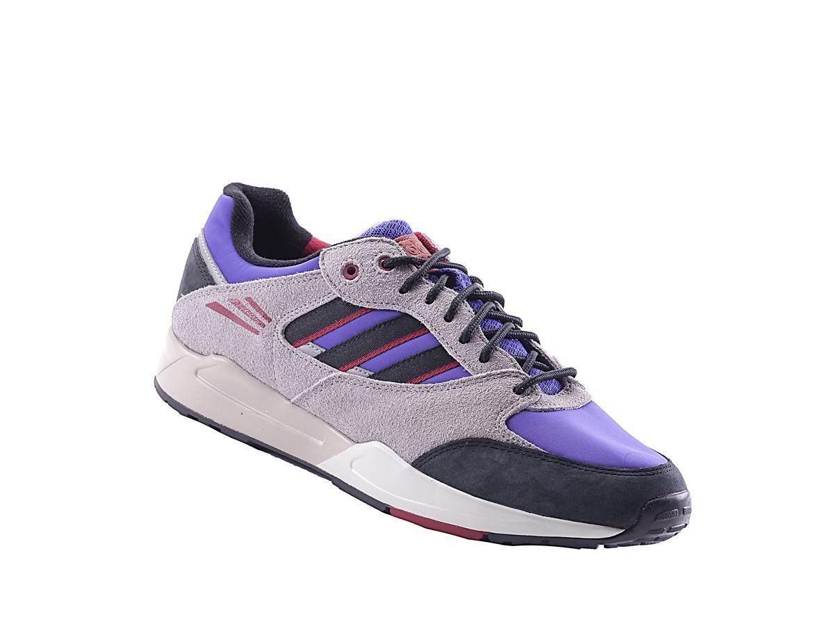 Adidas Tech Super Mens Sneaker G96499 Lila Textil Alle Größen NEU