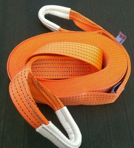 TOW ROPE STRAP 10M 4X4 RECOVERY WINCH/TOWING ROPE STRAP STROP 5 TON