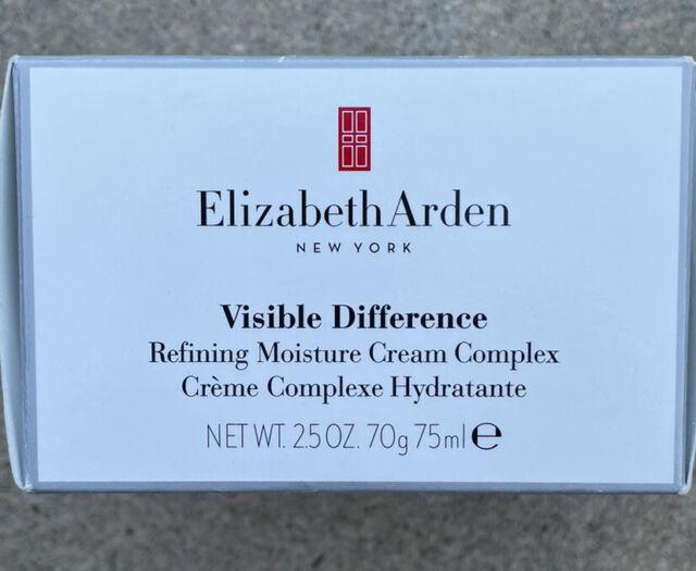 New Elizabeth Arden Visible Difference Refining Moisture Cream 2.5oz 75ml NIB