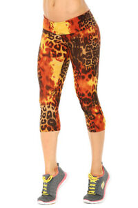 3 Elisabetta Rust Sport 4 Sz Small Nwt Rogiani Leggings Band Tiger Di wtAvq