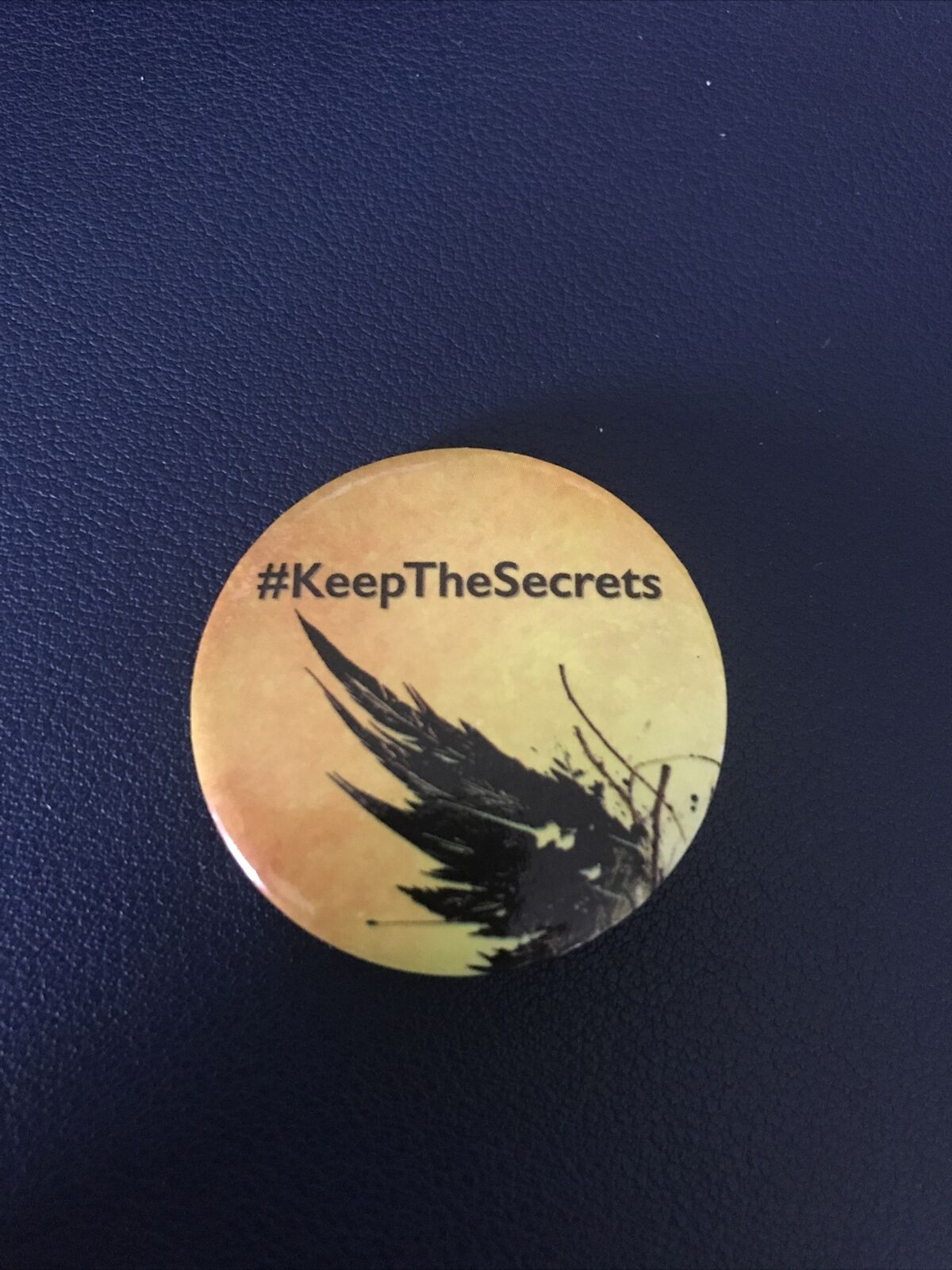 Harry Potter And The Cursed Child #KeepTheSecrets Pin Badge