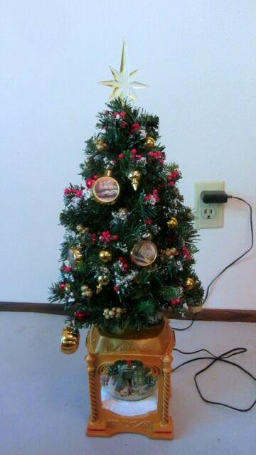 Thomas Kinkade Tabletop Tree With