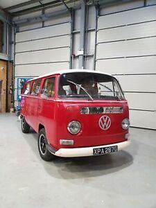 1969 Volkswagen T2 Campervan devon vw baywindow splitscreen camper type 2