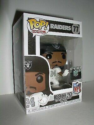 sale retailer f939d 97fc7 Funko Pop NFL Football Oakland Raiders Marshawn Lynch Color Rush - Vinyl 77  for sale online | eBay
