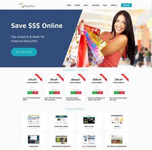 Discount Coupons Deals Website For Sale Free Hosting Ssl Ebay