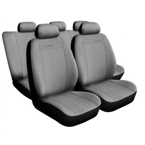 Auto Sitzbezüge SET Schonbezüge Grau geeignet für Jeep Renegate Patriot KIA