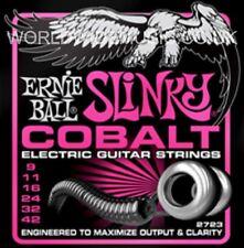 1 Set di ERNIE BALL SUPER SLINKY COBALTO 9 - 42 Chitarra elettrica stringhe (2723)