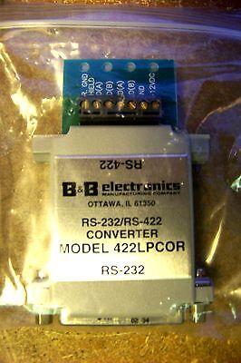 422COR B/&B Electronics PLC RS-232 To RS-422 Converter 422C0R