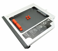 Nimitz 2nd HDD SSD Hard Drive Caddy for Lenovo ThinkPad L440 L540 With Bezel