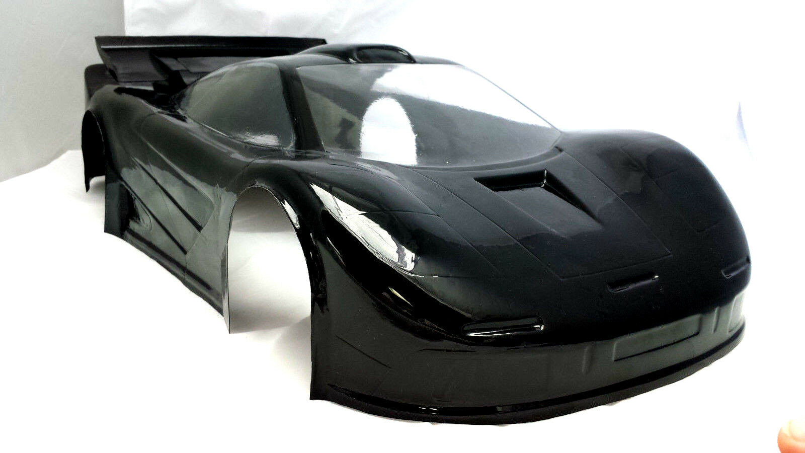 1/8 Mclaren GTR RC Car Body clear Shell 360 mm GT-V2 Long Wheelbase 7500/1.5