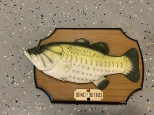 Vintage-1999-Gemmy-Original-Big-Mouth-Billy-Bass-Singing-Fish-Collectible